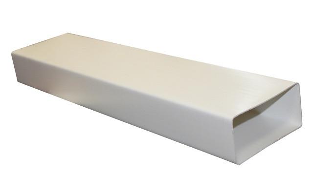 Воздуховод прямоугольный ПВХ 55х110 L=1м ЭРА 511ВП1