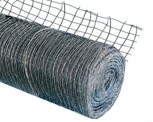 Сетка тканая оцинкованная 14х14х0,8мм 1х80м