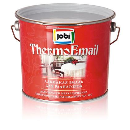 Эмаль алкидная для радиаторов Jobi Thermoemail (ТермоЭмаль) 2,7л
