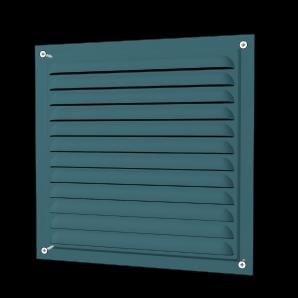 Решетка вентиляционная вытяжная ERA оцинкованная с сеткой 150х150мм 1515МЦ