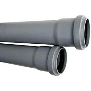 Труба ПВХ канализационная D50мм 25см