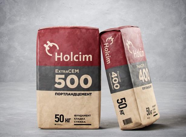 Цемент М-500 Holcim ExtraCem Д20 50кг