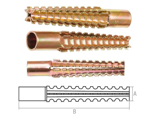 Дюбель для газобетона (металлический) 6х32 мм