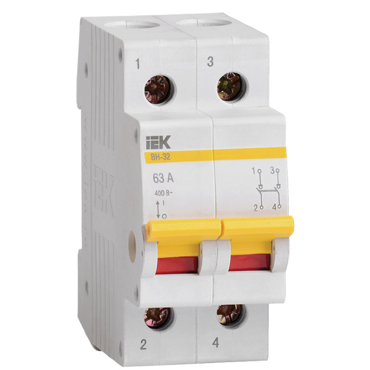 Автоматический выключатель ВА47-29 2Р 16А
