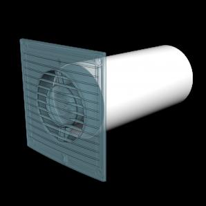 Воздуховод круглый ПВХ Д160 L=0,5м ЭРА 16ВП