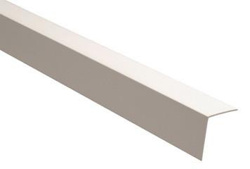 Уголок ПВХ белый 20х20мм 3м